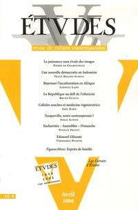 Pierre de Charentenay - Etudes Tome 404, N° 4, Avri : .