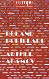 Jean-Baptiste Para - Europe N° 1065-1066, Janvie : Roland Dubillard ; Arthur Adamov.