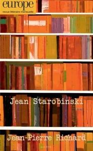 Jean-Baptiste Para - Europe N° 1080, avril 2019 : Jean Starobinski, Jean-Pierre Richard.