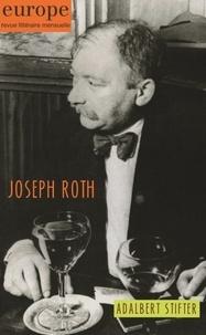 Jean-Baptiste Para - Europe N° 1087-1088, novemb : Joseph Roth, Adalbert Stifter.