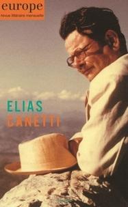 Jean-Baptiste Para - Europe N° 1093, mai 2020 : Elias Canetti.