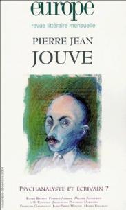 Charles Dobzynski - Europe N° 907-908 : Pierre Jean Jouve.
