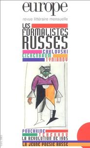 Charles Dobzynski - Europe N° 911, Mars 2005 : Les formalistes russes.