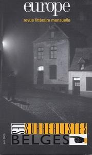 Pierre Vilar et Paul Nougé - Europe N° 912, Avril 2005 : Les surréalistes Belges.