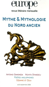 Régis Boyer et  Collectif - Europe N° 928-929, Août-Sep : Mythe et mythologie du Nord ancien.