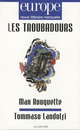 Gérard Gouiran et Magdalena Leon Gomez - Europe N° 950-951, Juin-Jui : Les troubadours.