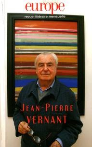 Bernard Mazzadri et Jean-Pierre Vernant - Europe N° 964-965, Août-sep : Jean-Pierre Vernant.