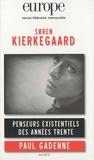 Jean-Baptiste Para et Franck Venaille - Europe N° 972, Avril 2010 : Soren Kierkegaard.