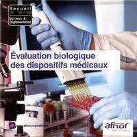 AFNOR - Evaluation biologique des dispositifs médicaux. 1 Cédérom