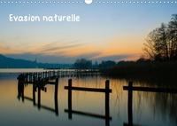 Pascal Dumont - Evasion naturelle (Calendrier mural 2020 DIN A3 horizontal) - Medley de photos de paysages entre Bretagne, Haute-Savoie et Espagne (Calendrier mensuel, 14 Pages ).