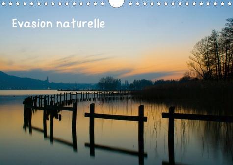Evasion naturelle (Calendrier mural 2020 DIN A4 horizontal). Medley de photos de paysages entre Bretagne, Haute-Savoie et Espagne (Calendrier mensuel, 14 Pages )