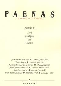 Jean-Michel Mariou et Ramon Gomez de la Serna - Faenas N° 6 : Nimeno II Ceci n'est pas une statue.