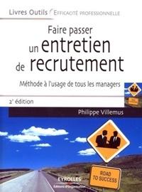 Faire passer un entretien de recrutement - Méthode à lusage de tous les managers.pdf