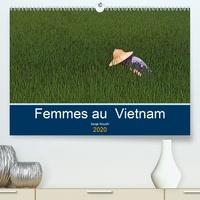Serge Nouchi - Femmes au Vietnam (Calendrier supérieur 2020 DIN A2 horizontal) - Une certaine observation des vietnamiens (Calendrier mensuel, 14 Pages ).