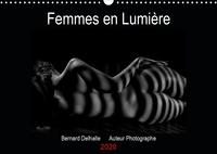 Bernard Delhalle - Femmes en Lumière (Calendrier mural 2020 DIN A3 horizontal) - Calendrier mensuel, Nus artistiques 14 pages (Calendrier anniversaire, 14 Pages ).