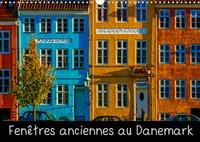 Michel Angot - Fenêtres anciennes au Danemark (Calendrier mural 2020 DIN A3 horizontal) - Un vieux village de pêcheurs, de petites maisons d'époque aux fenêtres anciennes et décorées avec soin et originalité (Calendrier mensuel, 14 Pages ).