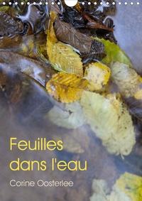 Corine Oosterlee - Feuilles dans l'eau (Calendrier mural 2020 DIN A4 vertical) - Eclats de lumière sur les feuilles inondées (Calendrier mensuel, 14 Pages ).