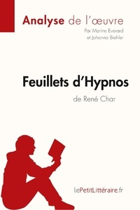 René Char - Feuillets d'Hypnos.