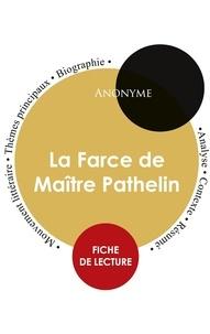 Anonyme - Fiche de lecture La Farce de Maître Pathelin (Étude intégrale).
