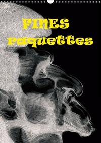 Georges Mifsud - Fines raquettes (Calendrier mural 2020 DIN A3 vertical) - Douze portraits forcés de championnes et champions internationnaux de tennis. (Calendrier mensuel, 14 Pages ).
