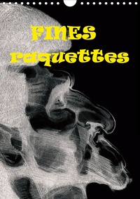 Georges Mifsud - Fines raquettes (Calendrier mural 2020 DIN A4 vertical) - Douze portraits forcés de championnes et champions internationnaux de tennis. (Calendrier mensuel, 14 Pages ).