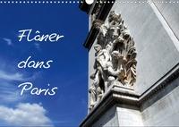Alain Hanel - photographies - Flâner dans Paris (Calendrier mural 2020 DIN A3 horizontal) - Flâner dans Paris, c'est faire un petit parcours sans but défini et découvrir le charme des rues de la capitale. (Calendrier mensuel, 14 Pages ).