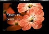 André Liatard - Fleurs et couleurs - Calendrier perpétuel A3 horizontal.