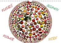 Pierre-Antoine Favre - Fleurs Fiore Flower Blumen (Calendrier mural 2020 DIN A4 horizontal) - Des beautés à admirer toute l'année (Calendrier mensuel, 14 Pages ).