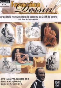 Guy Céry - Formation dessin - Tome 3, Modèle vivant et anatomie ; DVD Video.