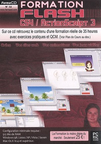 Sophie Lloret - Formation Flash CS4 / ActionScript 3 - DVD Rom.