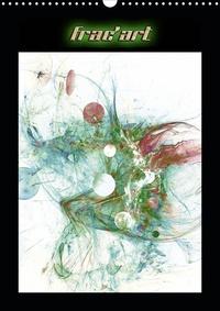 Jean Marc bleriot - Frac'art (Calendrier mural 2020 DIN A3 vertical) - Images fractales numériques (Calendrier mensuel, 14 Pages ).
