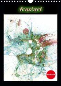 Jean Marc bleriot - Frac'art (Calendrier mural 2020 DIN A4 vertical) - Images fractales numériques (Organiseur, 14 Pages ).