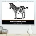 Claudia Elsner - Fraîchement peint(Premium, hochwertiger DIN A2 Wandkalender 2020, Kunstdruck in Hochglanz) - PopArt humoristique - Claudia Elsner (Calendrier mensuel, 14 Pages ).