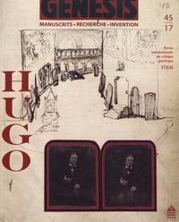 Jean-Marc Hovasse - Genesis N° 45/2017 : Hugo.