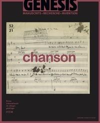 Stéphane Chaudier et Joël July - Génésis N° 52/2021 : Chanson.