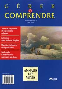 Annales des mines - Gérer et comprendre N° 75 - Mars 2004 : .