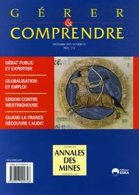 Pascal Lefebvre et Sébastien Damart - Gérer et comprendre N° 82, Décembre 2005 : .