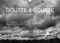 Olivier Pasquiers - CALVENDO Nature  : Goutte à goutte (Calendrier mural 2021 DIN A3 horizontal) - L'eau : de la montagne à la mer. (Calendrier mensuel, 14 Pages ).