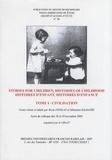 Rosie Findlay et Sébastien Salbayre - GRAAT N° 36, Juin 2007 : Histoires d'enfant, histoires d'enfance - Tome 1, Civilisation.