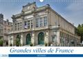 Thomas Bartruff - Grandes villes de France - Béziers (Calendrier mural 2020 DIN A3 horizontal) - Promenade à travers la ville du commerce viticole. (Calendrier mensuel, 14 Pages ).
