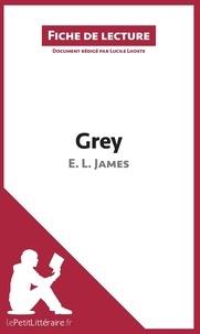 Lucile Lhoste - Grey - Résumé complet et analyse détaillée de l'oeuvre.