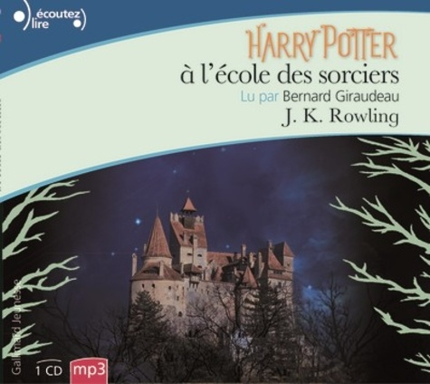 Harry Potter Tome 1 Harry Potter à l'école des sorciers -  avec 1 CD audio