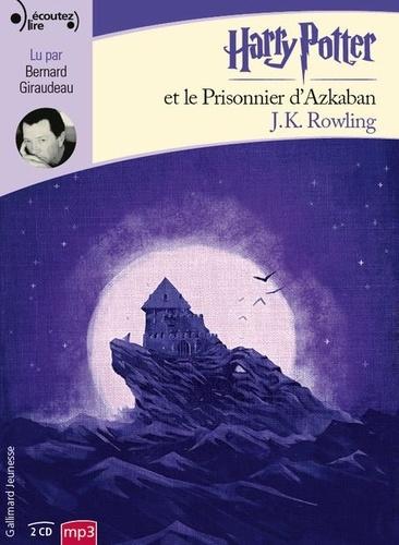 Harry Potter Tome 3 Harry Potter et le prisonnier d'Azkaban -  avec 2 CD audio MP3