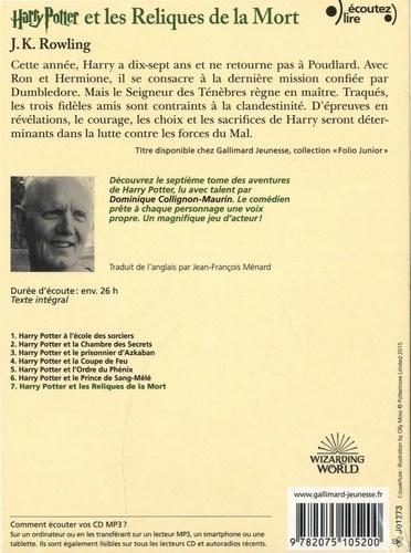 Harry Potter Tome 7 Harry Potter et les reliques de la mort -  avec 3 CD audio MP3