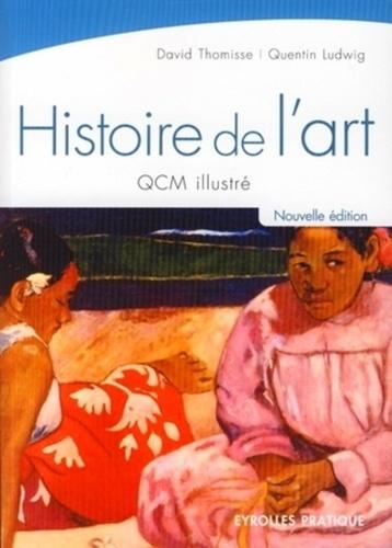 David Thomisse et Quentin Ludwig - Histoire de l'art - QCM illustré.