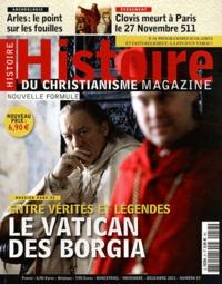 Philippe Martin - Histoire du christianisme N° 57, Novembre-Déce : Entre vérités et légendes le Vatican des Borgia.