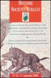 Poirier - Histoire & Sociétés Rurales N° 21, 1er semestre : .