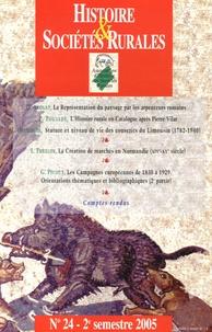 Delphine Acolat et Patrice Poujade - Histoire & Sociétés Rurales N° 24, 2e semestre 2 : .