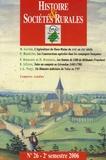 Michel Gautier et Jean-Marc Moriceau - Histoire & Sociétés Rurales N° 26, 2e semestre 2 : .