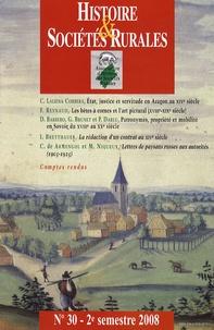 Histoire & Sociétés Rurales N° 30, 2e semestre 2.pdf